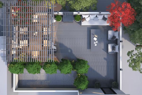 Fink Penthouse rooftop-garden