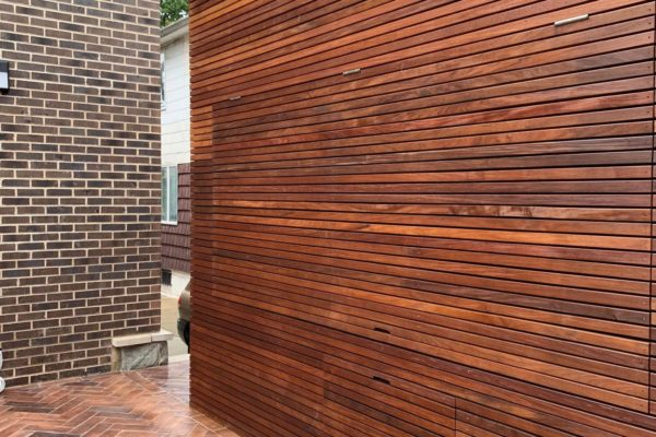 tier ii _private_ residential_backyard_gardens_design_landscapoig_IPE_woodwork_build_courtyard_brooklyn_nyc_landscape_fireplace_trees_kitchen_outdoor