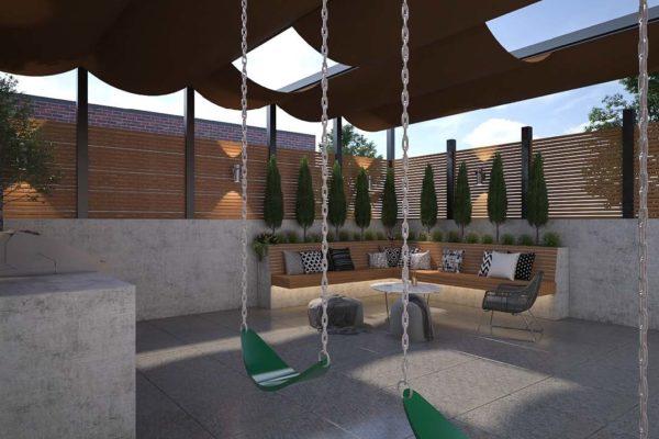 nyc_tier_ii_design_residential_ipe_kitchen_woodwork_landscape_landscaping_brooklyn_lighting_courtyard_roofdeck_custom_high_end_pergola_canopy_lighting