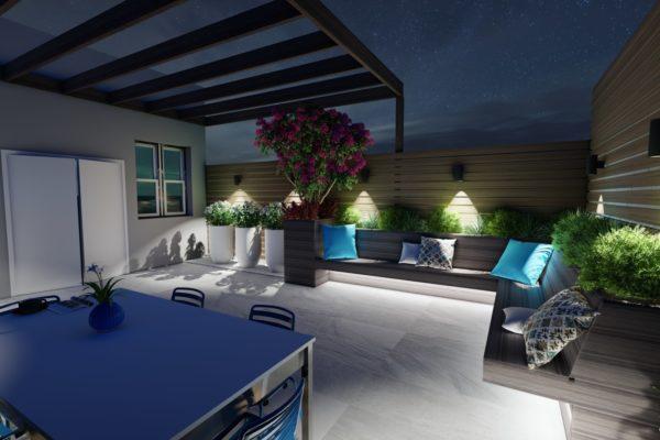 Tier_ii_landscape_design_build_maintain_roofdeck_landscaping_custom_high_end_new_york_city_brooklyn_wood_pergola_furniture_urban_courtyard_landscape