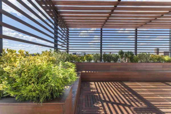 tier_II_landscape_design_commercial_rooftop_brooklyn_IPE_custom_woodwork_kitchen_landscaping_design_build_pergola_9v