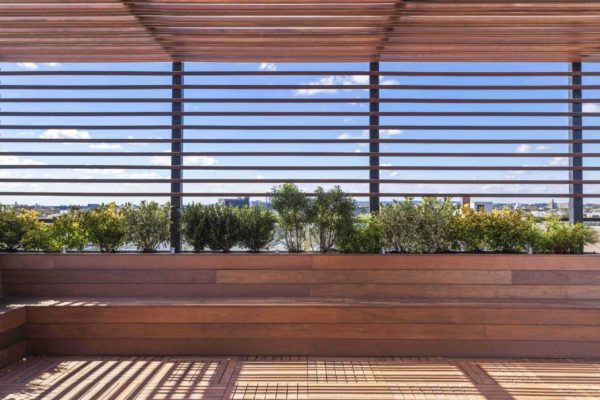 tier_II_landscape_design_commercial_rooftop_brooklyn_IPE_custom_woodwork_kitchen_landscaping_design_build_pergola_i