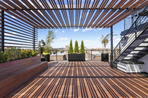 tier_II_landscape_design_commercial_rooftop_brooklyn_IPE_custom_woodwork_kitchen_landscaping_design_build_pergola_p