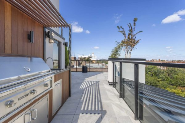 tier_II_landscape_design_commercial_rooftop_brooklyn_IPE_custom_woodwork_kitchen_landscaping_design_build_pergola_s