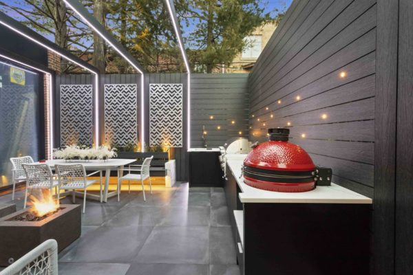 tier_ii_landscape_design_urban_landscaping_custom_outdoor_landscape_kitchen_kamado_woodwork_patio_screen